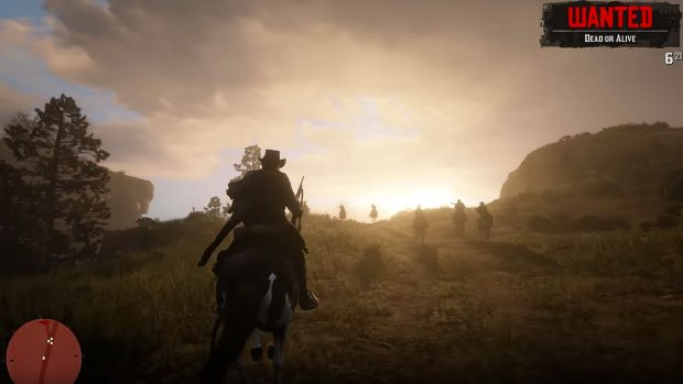 Red Dead Redemption 2 horses - Wanted System