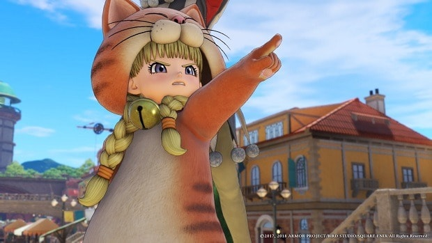 Dragon Quest XI Cat Suit Guide