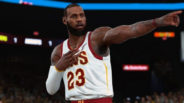 NBA 2K19 - LeBron James