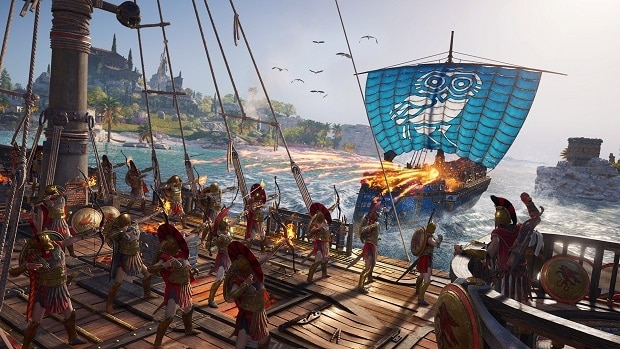 Assassin's Creed Odyssey Ship Upgrades Guide