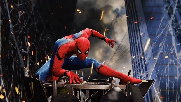 Marvel's SpiderMan PS4 Fast Traveling