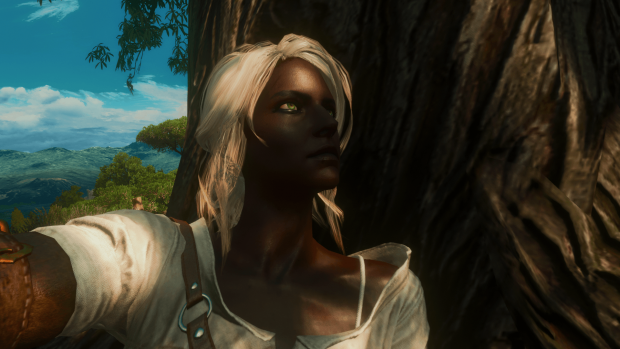 The Witcher 3 Black Ciri