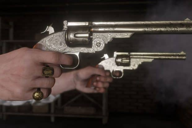 Red Dead Redemption 2 Weapons Locations