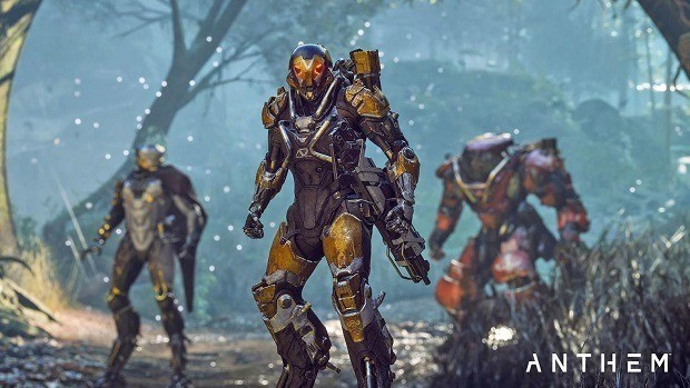 Unseen Anthem Gameplay Footage Shown In Paris Games Week Livestream