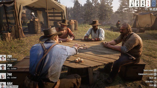Red Dead Redemption 2 Poker Table Game Guide