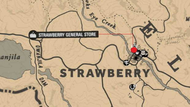 Strawberry General Store Robbery