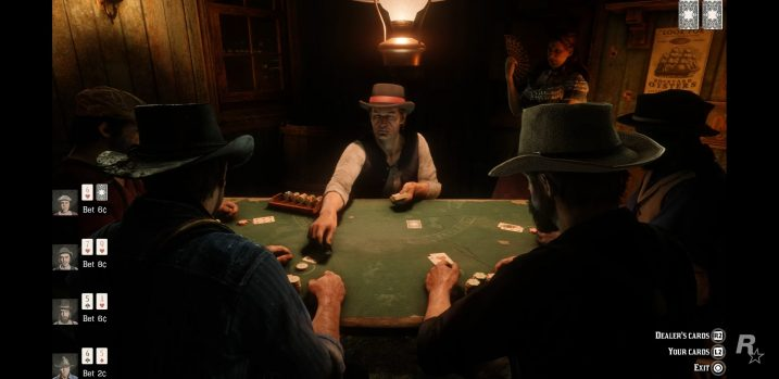 Red Dead Redemption 2 Table Games Guide – Tables Locations