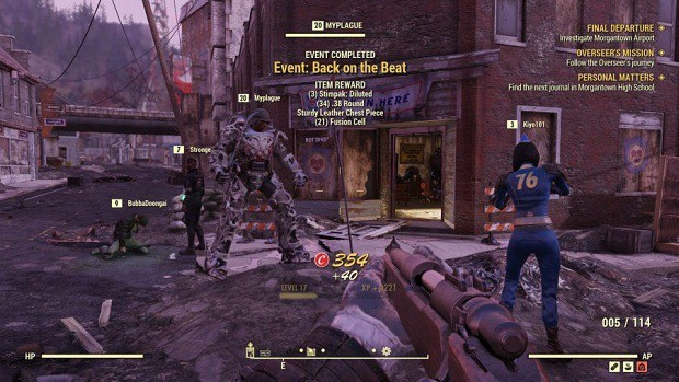Fallout 76 Events