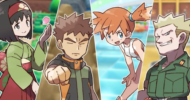 Pokemon Let's Go Gym Leaders Guide