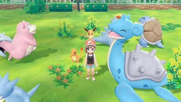 How to Get Charmander, Bulbasaur, Squirtle in Pokemon Let's Go