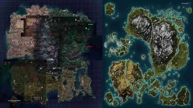 Here's How Just Cause 4 Map Size Compares to Just Cause 3, More Land
