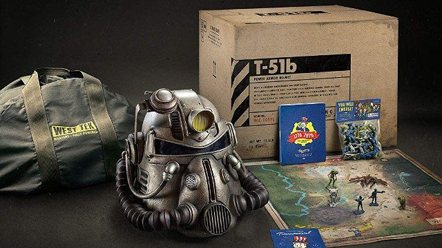 canvas bag fallout 76 power armor special edition