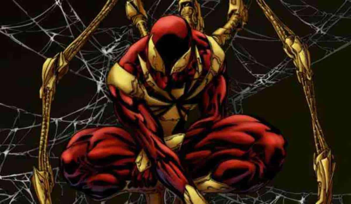 iron spider man