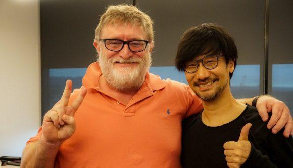 Hideo Kojima Meets Gabe Newell, Possible Future Collaboration?