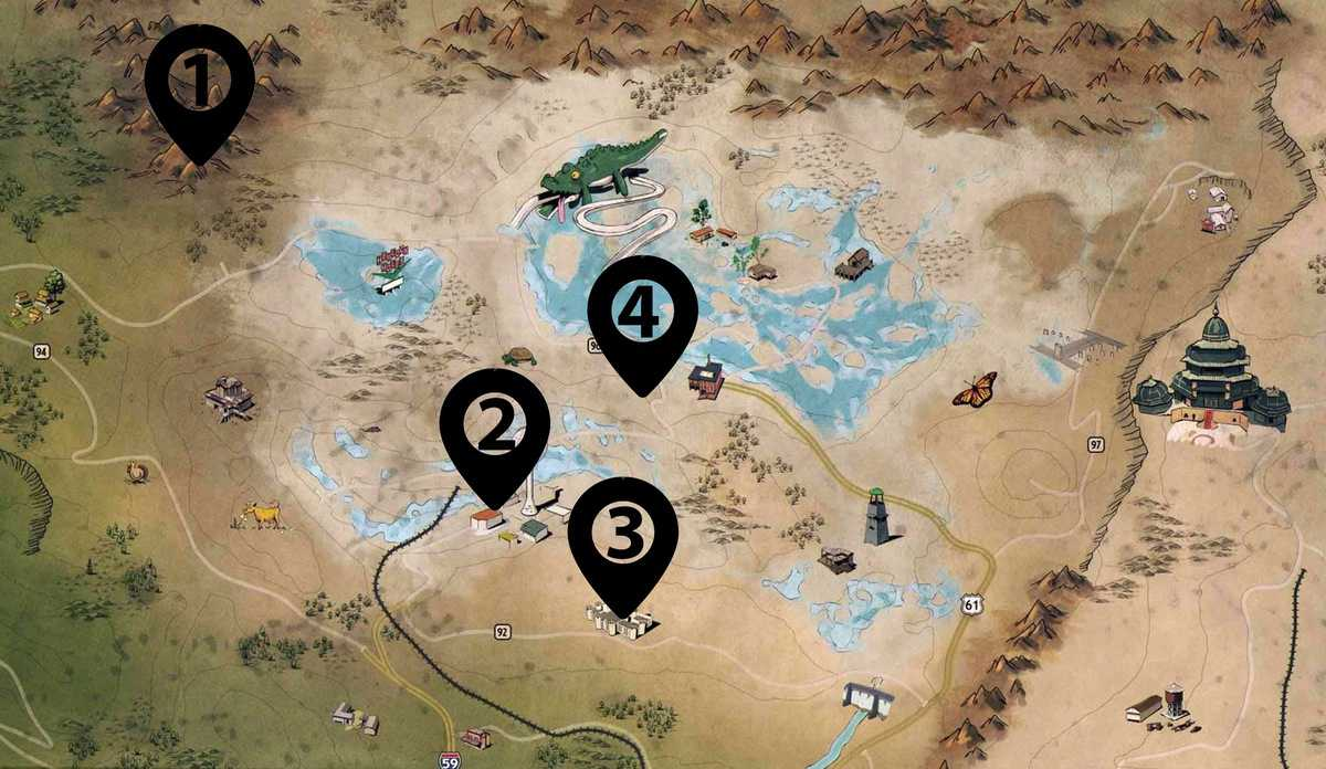 Fallout 76 Cap Stashes Locations Guid