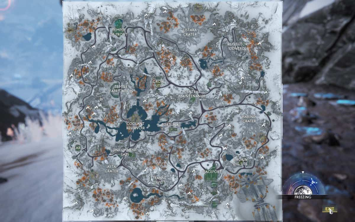 Warframe Fortuna Caves Locations Guide
