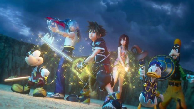 Kingdom Hearts 3 opening movie released