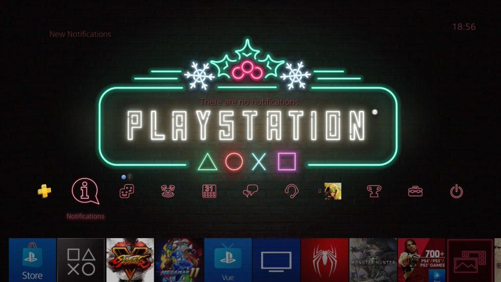 PlayStation Holiday Theme, PlayStation 5 reveal