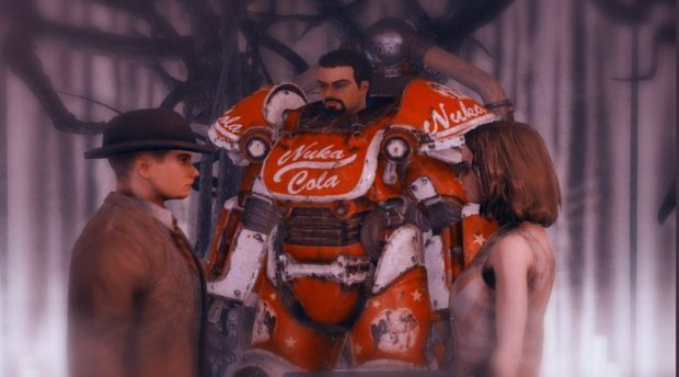 Fallout 76 Players Get Married In Game With A Nuka Cola Themed Ceremony