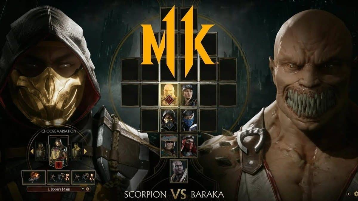 Mortal Kombat 11 cross play