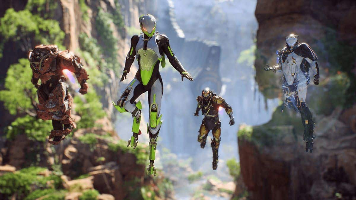 Anthem Tombs of Legionnaires Walkthrough Guide
