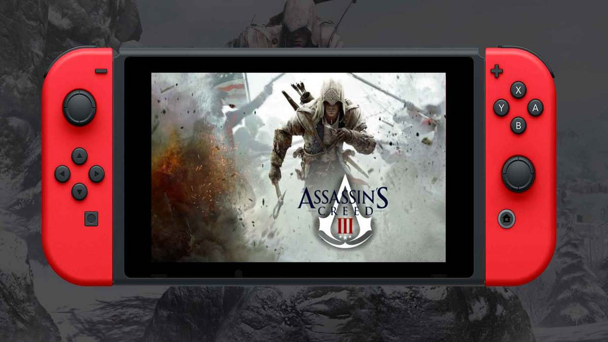 Assassin's Creed 3 Remaster Switch