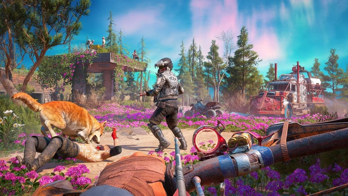 Far Cry New Dawn Guns and Fangs for Hire Locations Guide – Companions, Abilities, How to Recruit