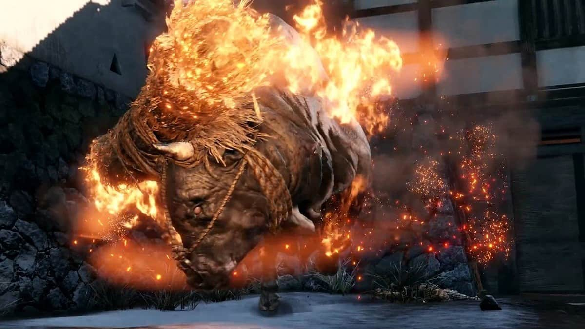 Sekiro Shadows Die Twice Blazing Bull Boss Fight Guide