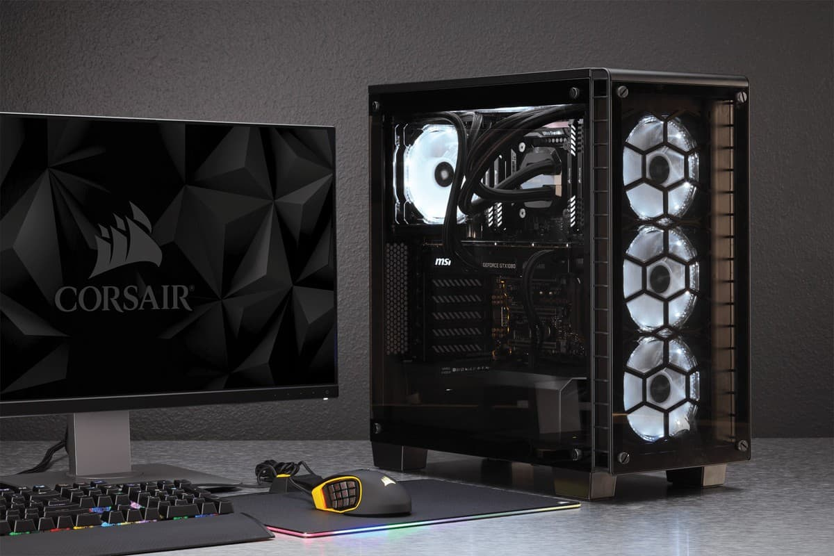 Best mid tower case for PC gaming Corsair