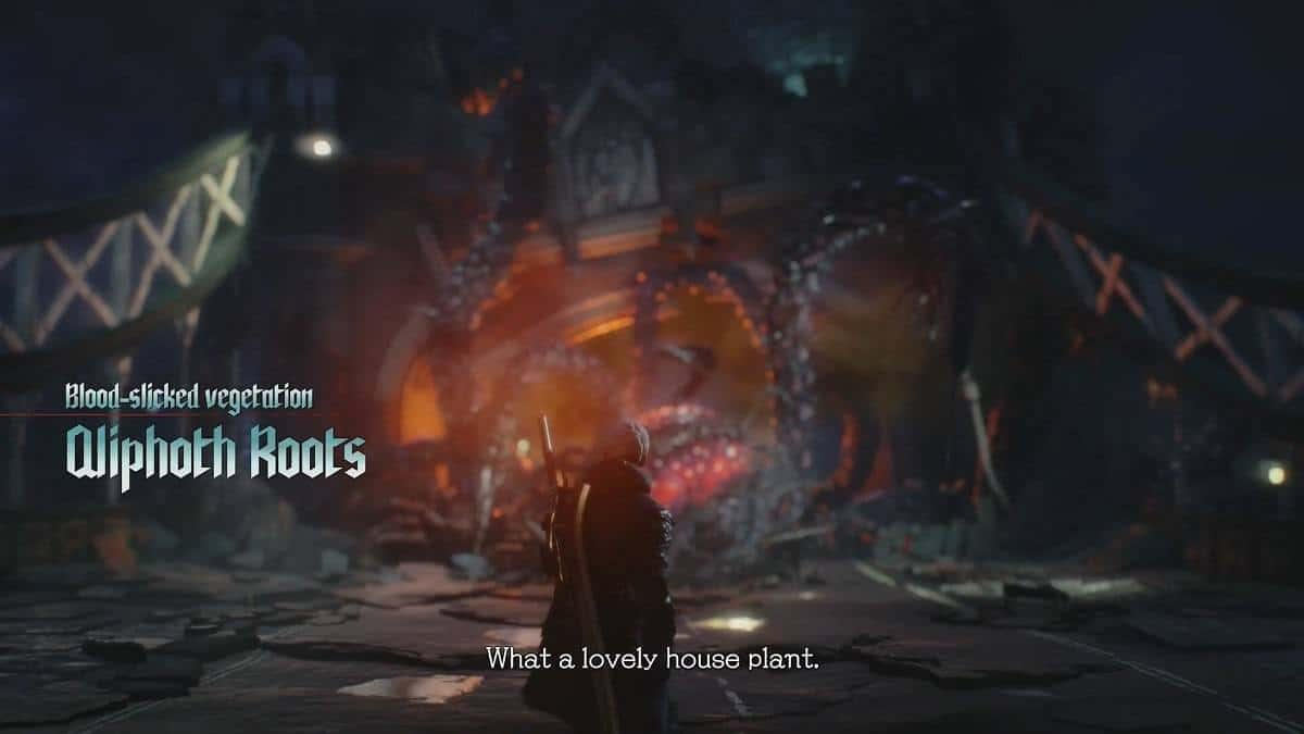 Devil May Cry 5 Qliphoth Roots Boss Guide