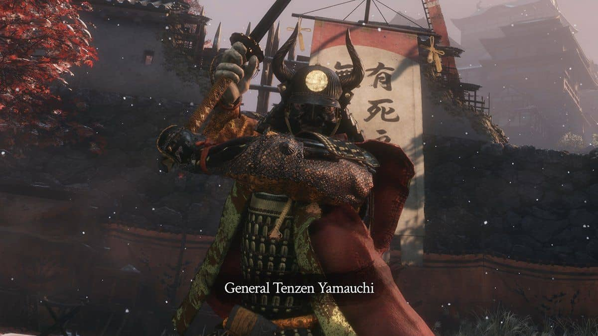 Sekiro Shadows Die Twice General Tenzen Boss Guide