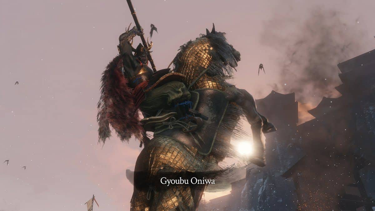 Sekiro Shadows Twice Gyoubu Oniwa Boss Guide