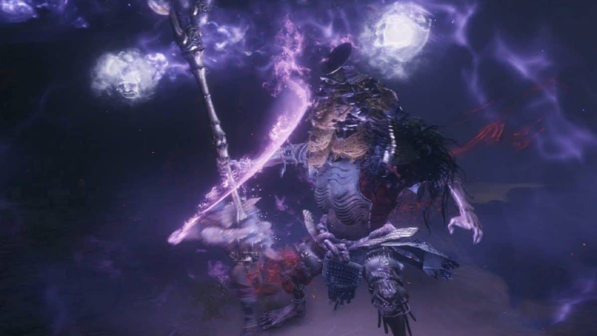 Sekiro Shadows Die Twice Abandoned Dungeon Walkthrough Guide – Crumbling Offering Tower, Shichimen Warrior