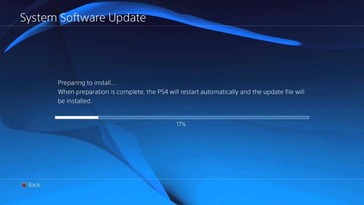 PS4 Firmware Update 6.51