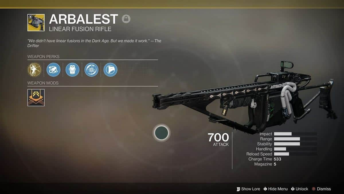 Destiny 2 Arbalest Exotic Kinetic Fusion Rifle Guide – Revelry Event Quest
