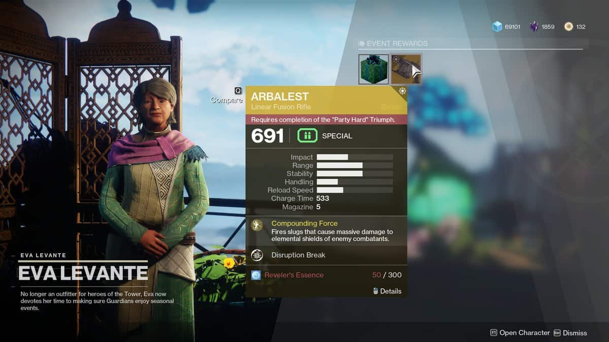 How to Start Revelry Event in Destiny 2 – Eva Levante Location