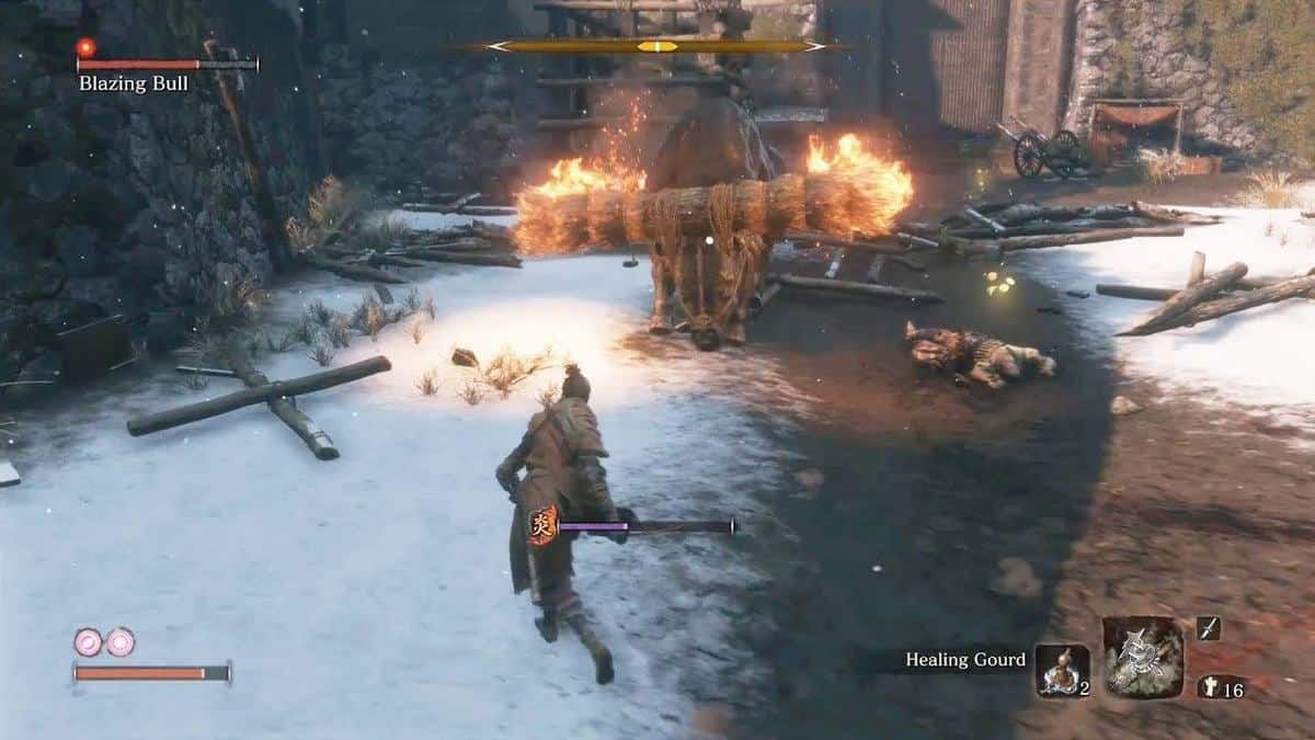 Sekiro: Shadows Die Twice Update 1.04 Fixes Blazing Bull Boss Fight