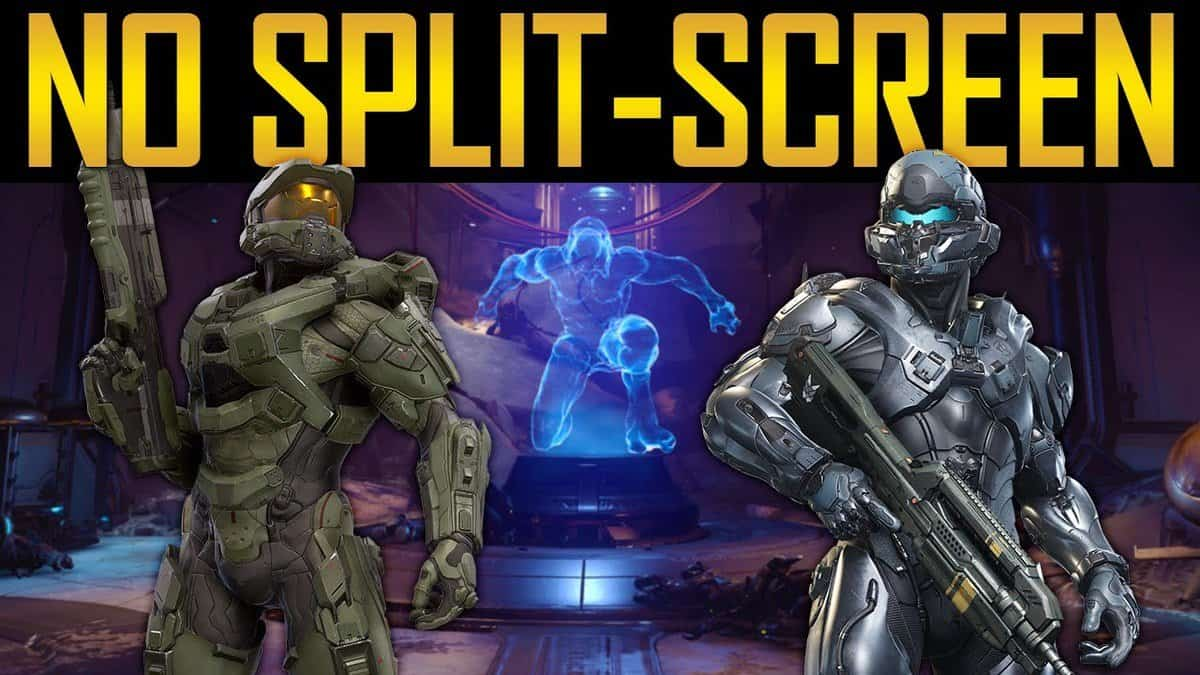 Halo 5: Guardians Split Screen