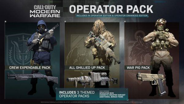 Call of Duty: Modern Warfare Operator Pack