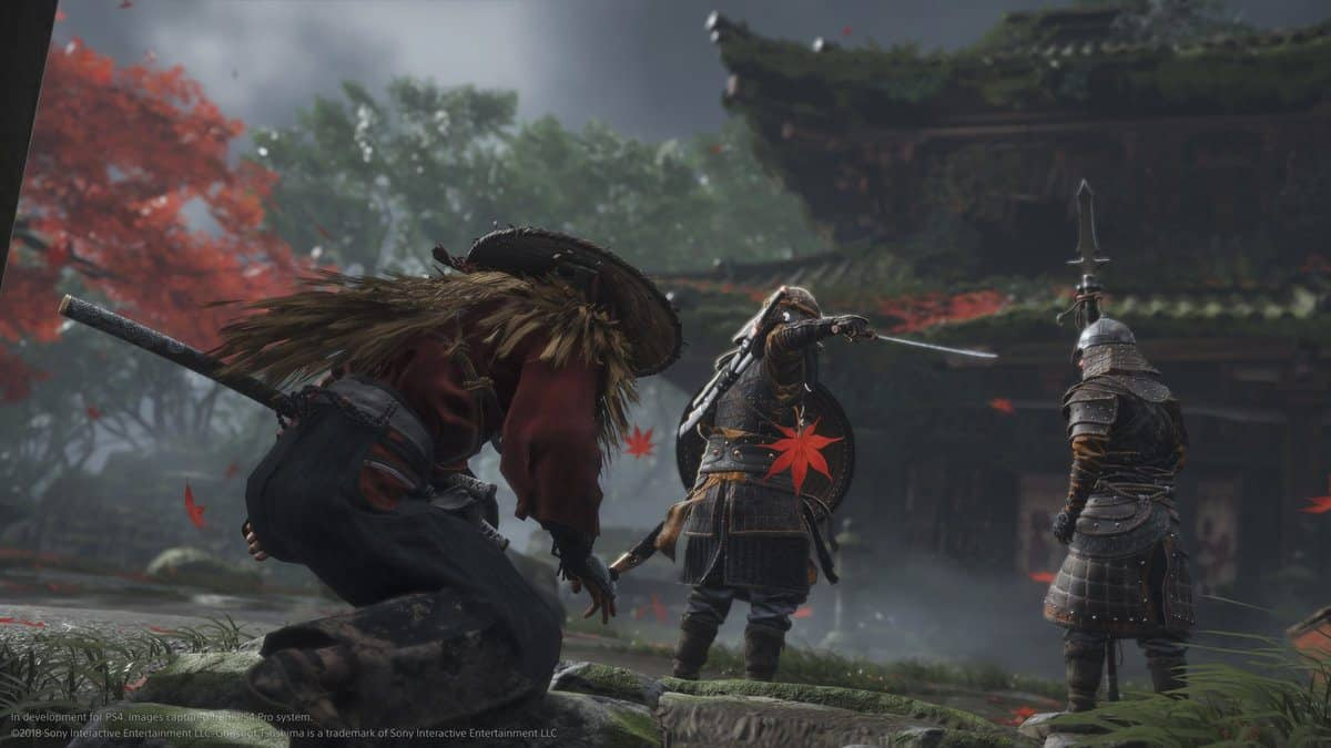 Swedish Retailer Lists An Unlikely Release Date for Ghost of Tsushima