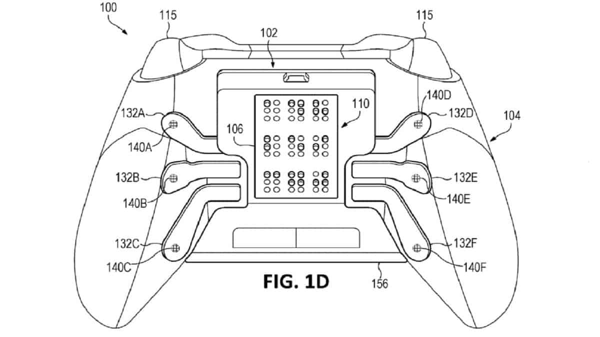 Microsoft is Working on an Xbox Controller with Braille Support, Patent Reveals