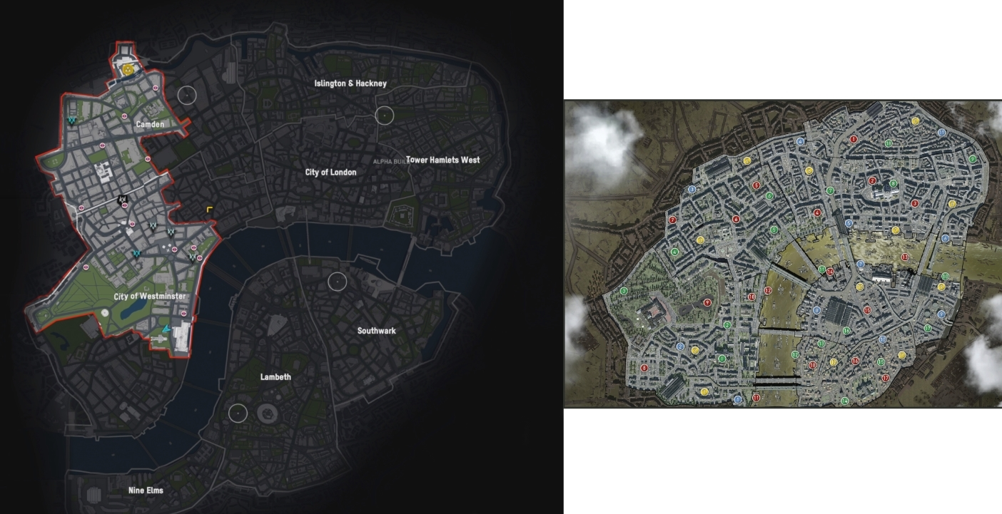 What S Watch Dogs Legion Map Size Bigger Than Assassin S Creed