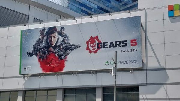 Gears 5 Poster at E3