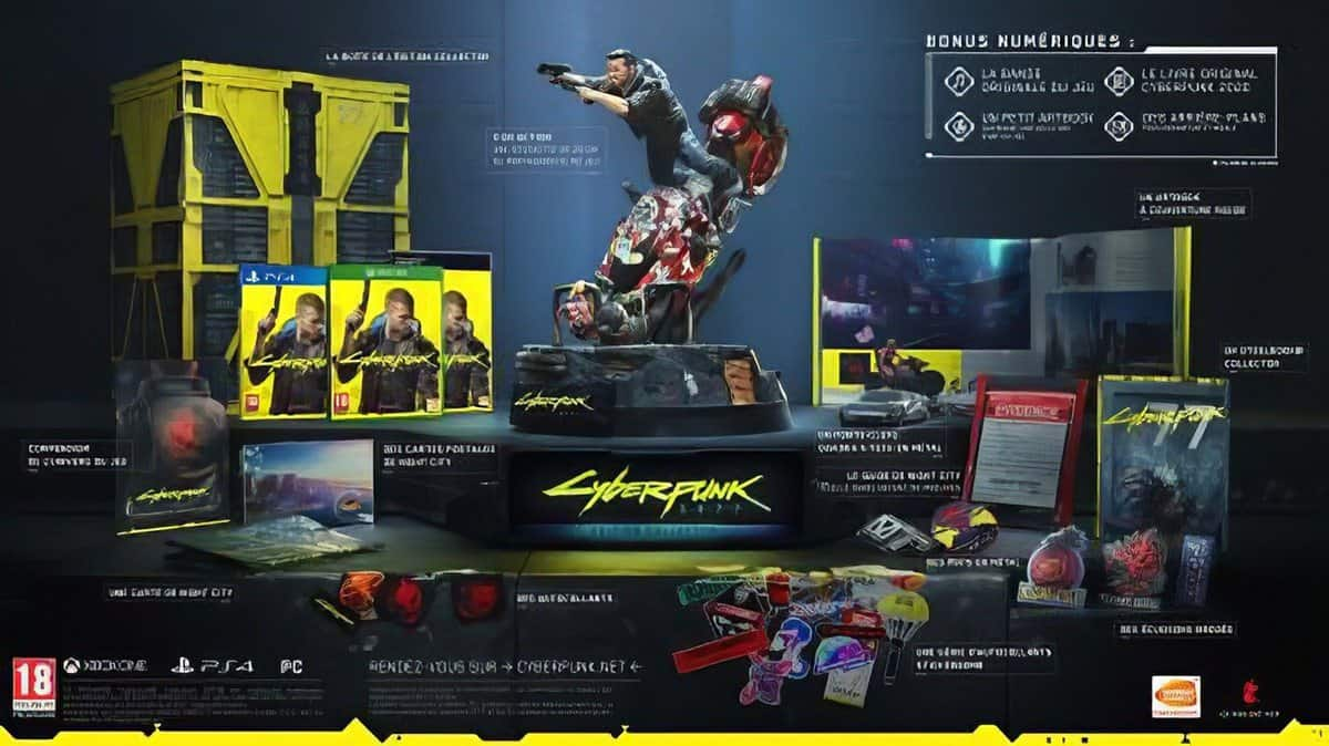 Cyberpunk Collector's Edition