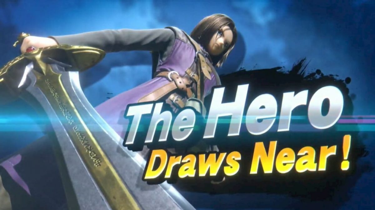 Super Smash Bros. Ultimate Getting Dragon Quest's Hero Soon