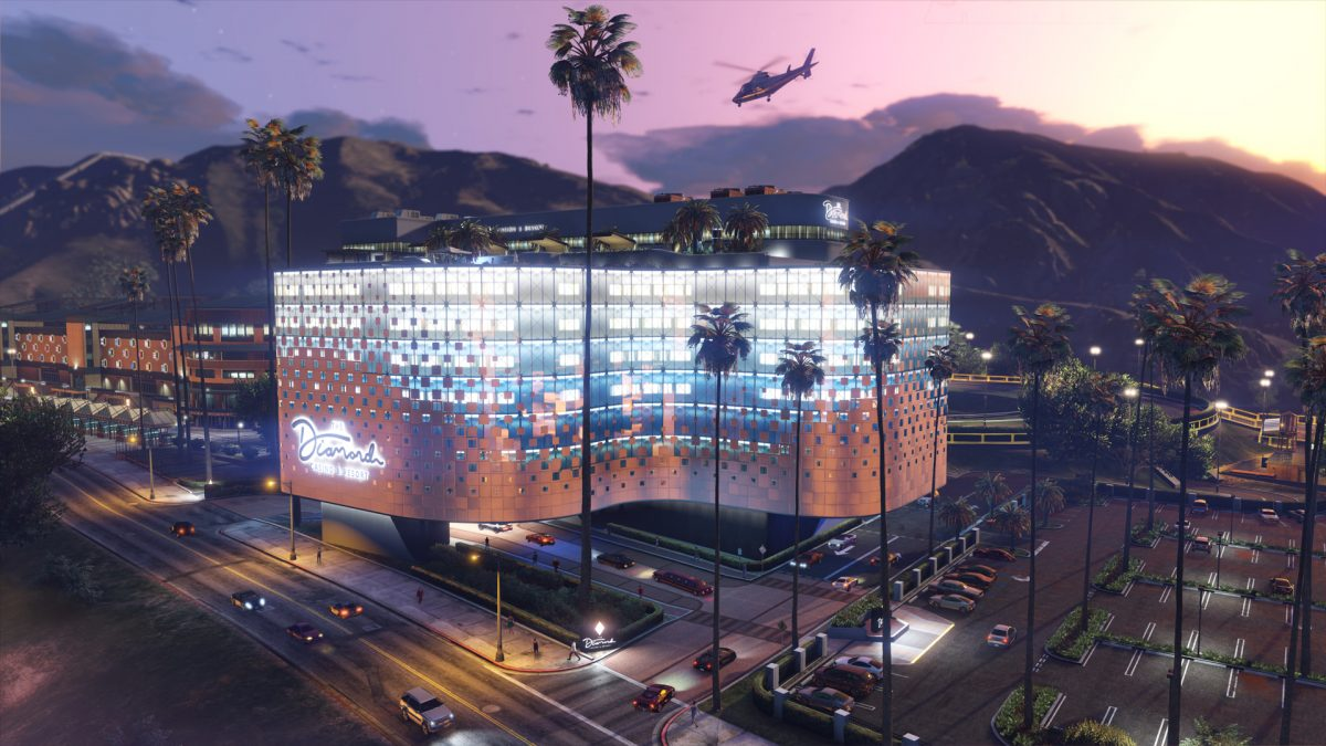 GTA Online Diamond Casino and Resort Location Guide