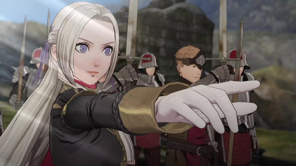 Fire Emblem Black Eagle House Detailed In New Character Trailer