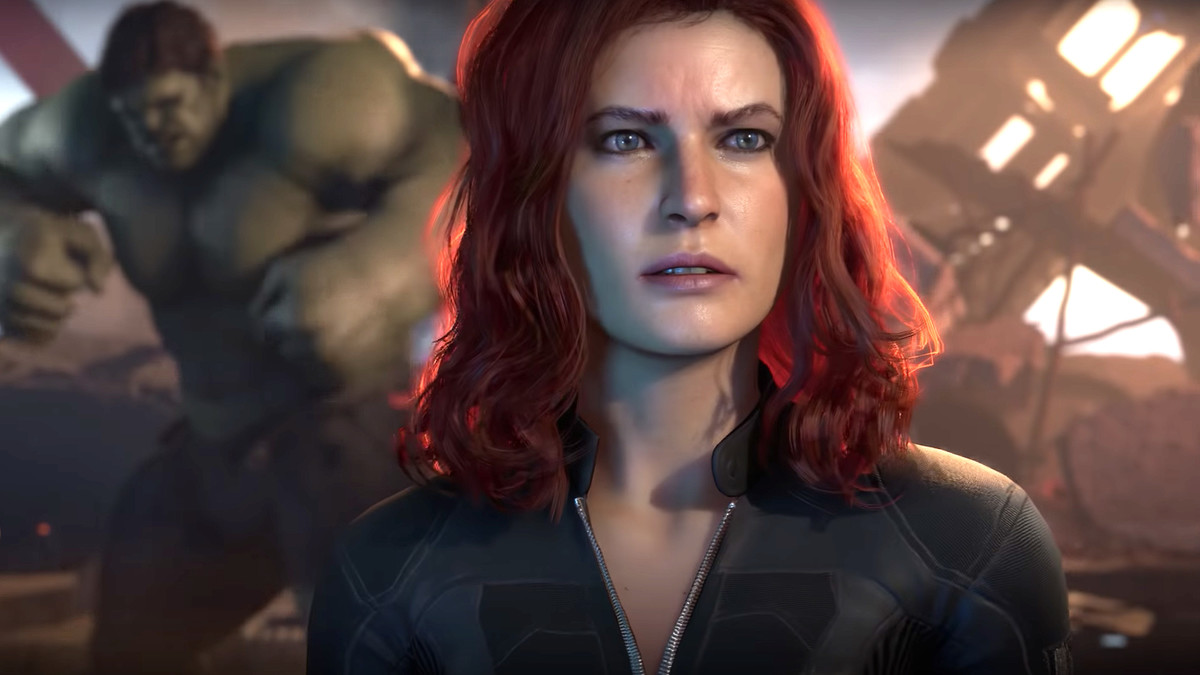 First Look at the Updated Face of Black Widow in Marvel's Avengers Game