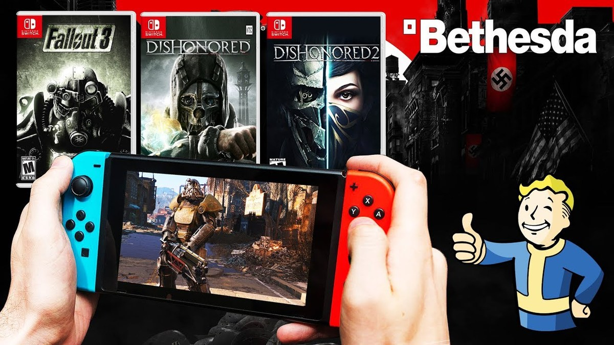 People Purchase Nintendo Switch to Play Bethesda Games, Says Pete Hines