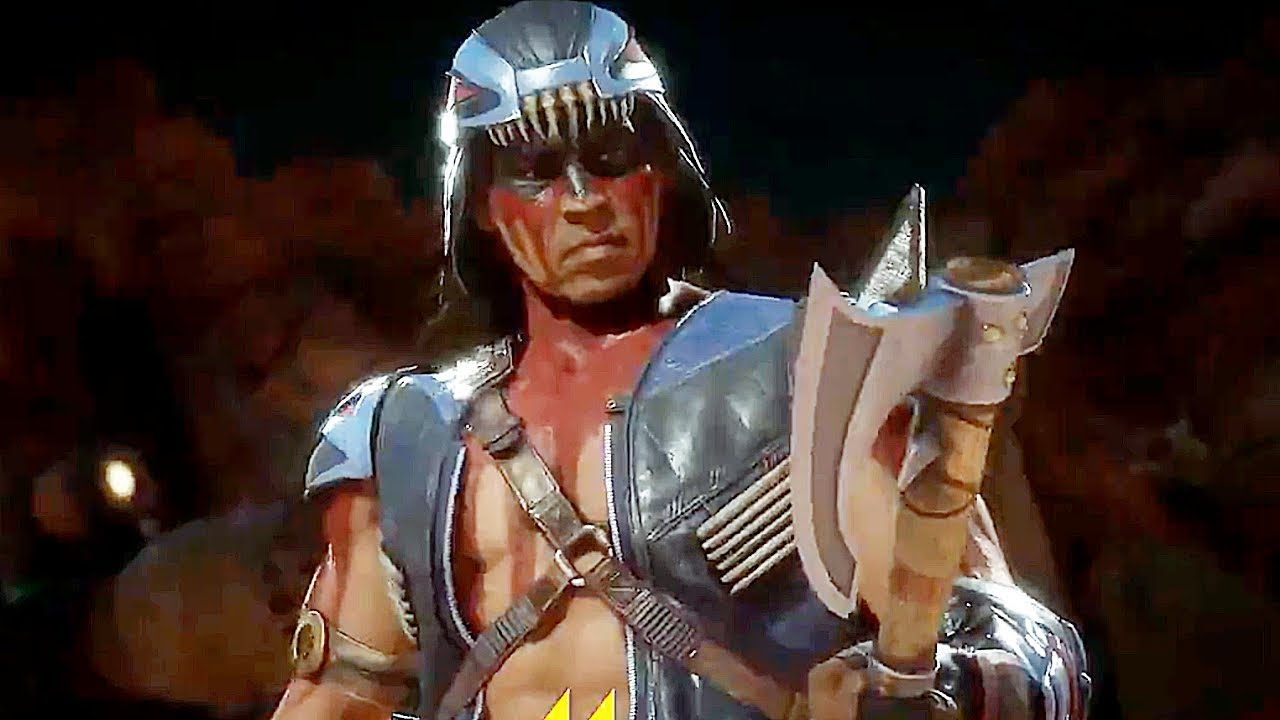 Here's What Nightwolf Will Be Like In Mortal Kombat 11